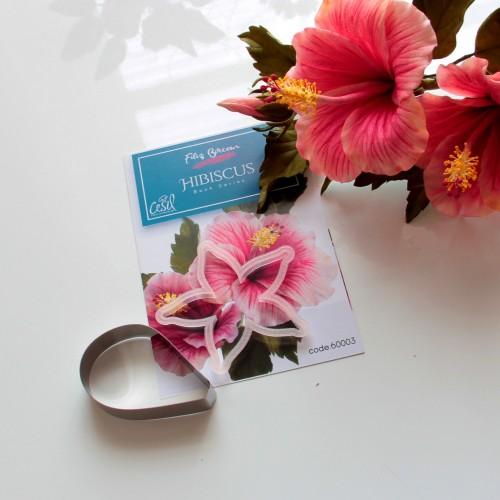 Hibiskus (Hibiscus) Metal ve Plastik Kesici Set