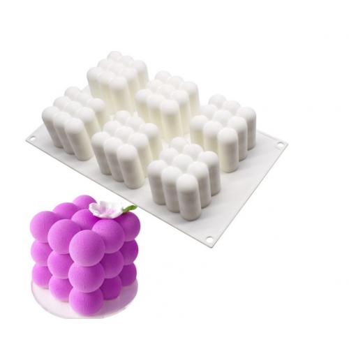 3D Bubble Silikon Kek Kalıbı