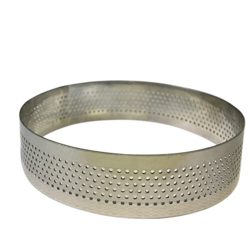 Delikli çember (tart ring) - çap 22cm