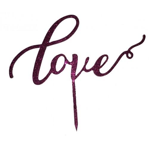 Topper - Simli Love Mor , H: 16,5 cm