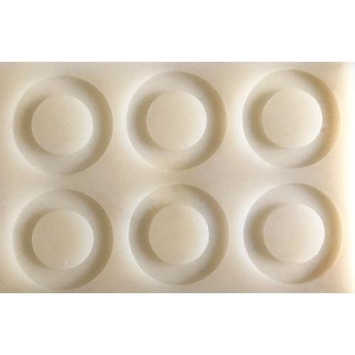 Cesil Daire Set Silikon Çikolata Kalıbı