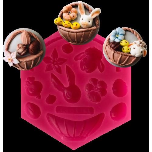 Cesil Hayvanlar Alemi Set - 3 Şeker Hamuru Modelleme Kalıbı