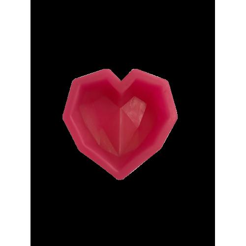 Cesil Silikon Elmas Kalp Şeker Hamuru Modelleme Kalıbı