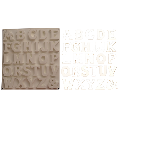 CesiL OZY ALFABE KALIBI - 33*33 CM