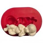 Cesil Uyuyan Bebek Kokulu Taş & Sabun Kalıbı