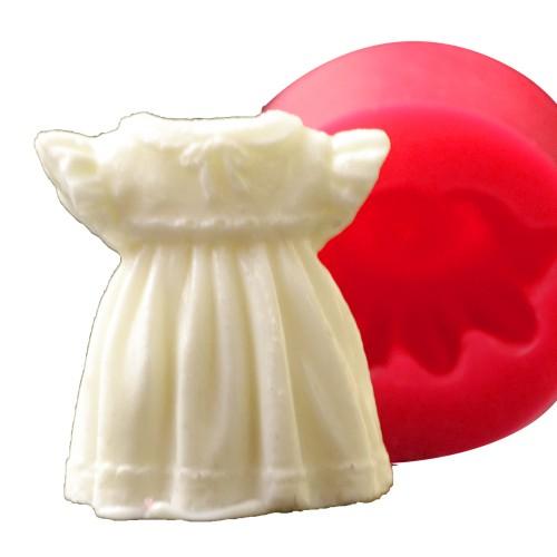 Cesil 3D Bebek Elbise Silikon Kokulu Taş ve Sabun Kalıbı