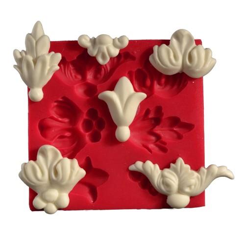 Cesil  Altili Çiçek Kokulu Taş ve Sabun Kalıbı (12*12,5Cm)