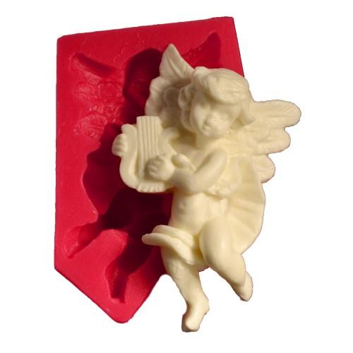 Cesil  Arp Çalan Melek Kokulu Taş ve Sabun Kalıbı (6*10Cm)