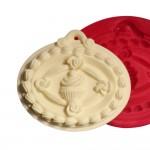 Cesil Cupcake Desenli Silikon Kokulu Taş & Sabun Kalıbı
