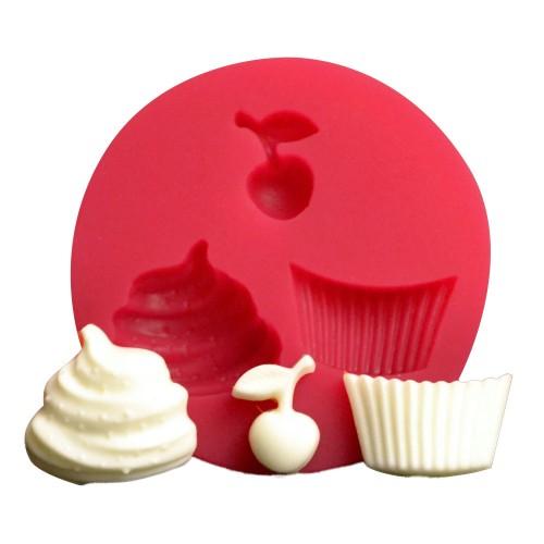 Cesil Cupcake Set  Ø5,5Cm