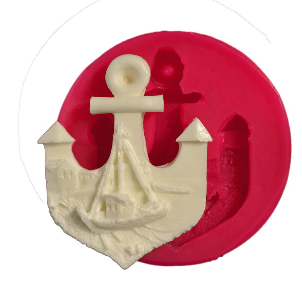 Cesil Gemili Çapa Silikon Kokulu Taş ve Sabun Kalıbı