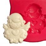 Cesil Küçük Kanatlı Bebek Kokulu Taş & Sabun Kalıbı
