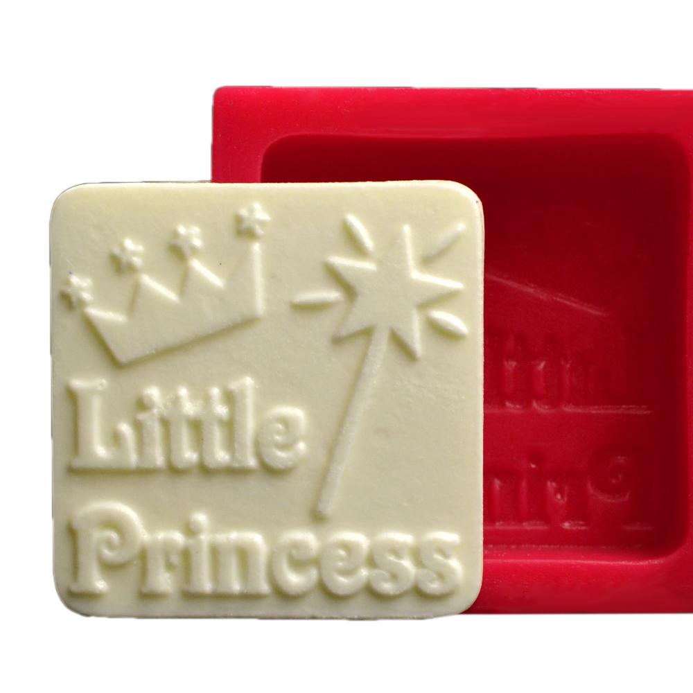 Cesil Little Princess Silikon Kokulu Taş ve Sabun Kalıbı