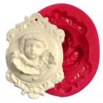 Cesil Melek Madalyon Kokulu Taş & Sabun Kalıbı