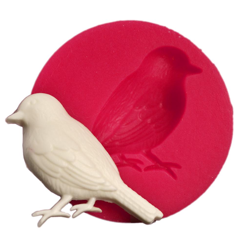 Cesil Minik Kuş Silikon Silikon Kokulu Taş & Sabun Kalıbı