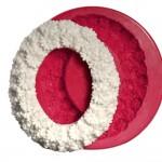 Cesil Oval Çiçekli Çerçeve Kokulu Taş & Sabun Kalıbı