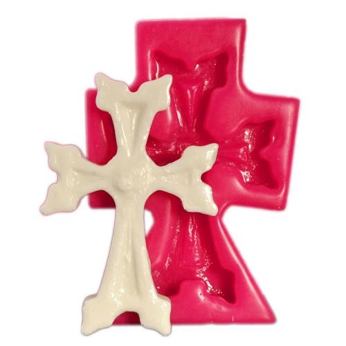 Cesil  The Cross New Size Kokulu Taş ve Sabun Kalıbı (6*5,5Cm)