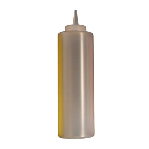Şeffaf Yağlık Şurupluk Şişesi 500 ML