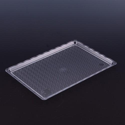 Polikarbon Şeffaf Kırılmaz Teşhir Tepsi 20 x 30 cm