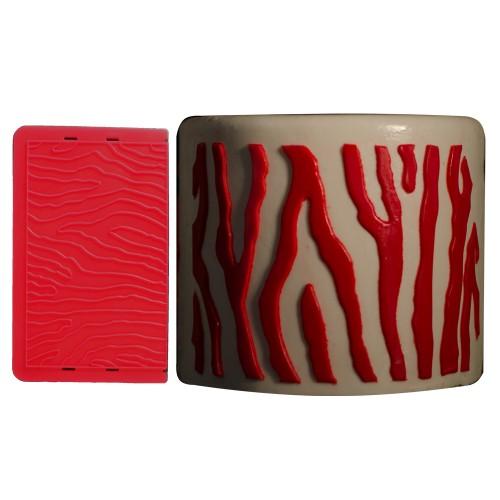 Pasta Transfer Silikonu Zebra Desen